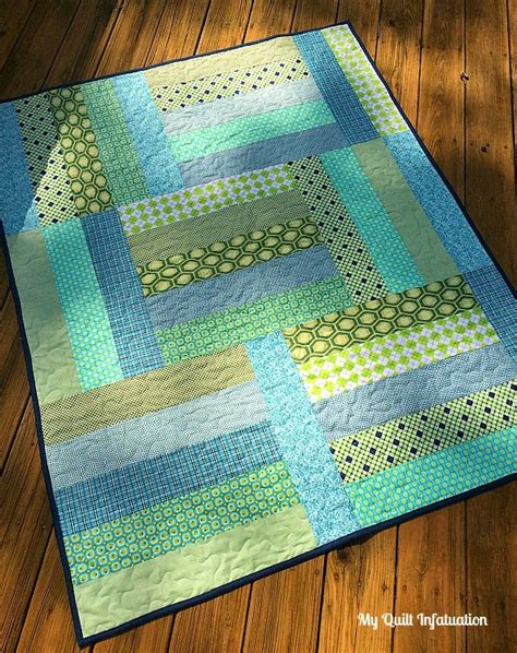 Easy Quilt To Make by Fort Worth Fabric Studio Oh Sew Baby Baby