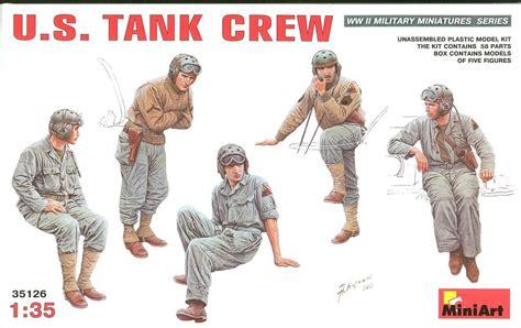 Model Kit Miniart 135 Tank Crew Wwii dvsm reviews