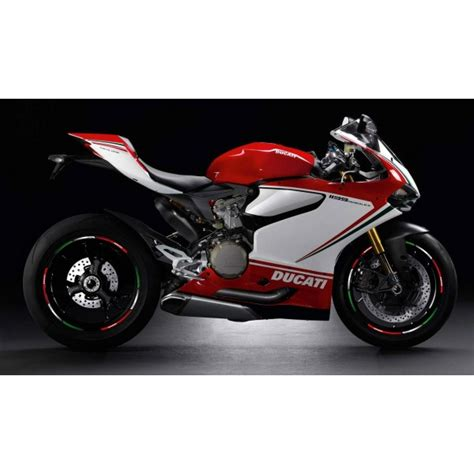 Ducati Corse Felgen Aufkleber by Ducati Corse Tricolore Wheel Stickers Decals Stripes