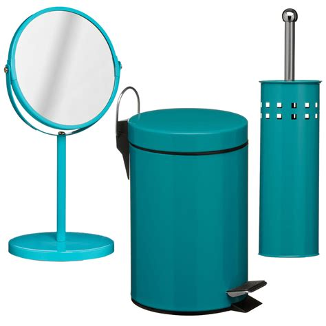 3 teal bathroom set unique home living