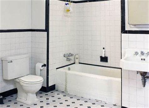 Black And White Tile Ideas For Bathrooms by Black And White Bathroom Ideas Black And White Tiled