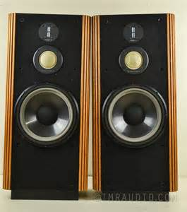 Infinity Speakers Kappa Infinity Kappa 7 Speakers Excellent Working Condition