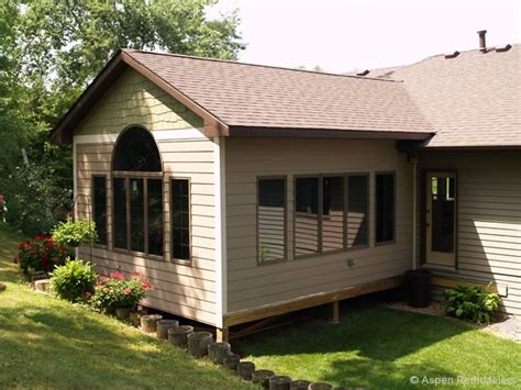Four Season Porch Additions Great Room Addition Plans Season Porch Addition Exterior
