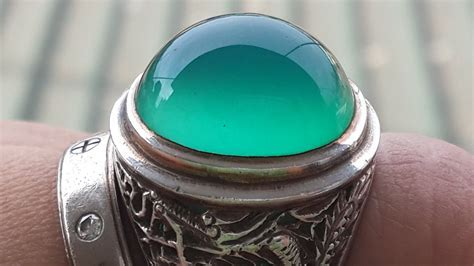 Bacan Stone Ring   The Best Agate Stone From Indonesia