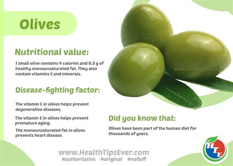 Olive For Health And by Nutritional Value And Health Benefits Of Olives Health