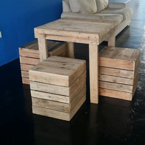 Meja Pallet Perabot Pallet Meja Furniture Home On Carousell