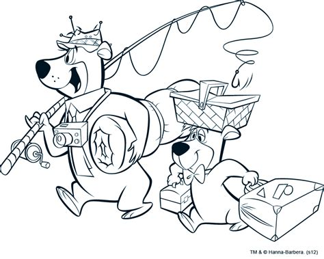 Yogi Bear Coloring Pages Az Coloring Pages Yogi Coloring Pages