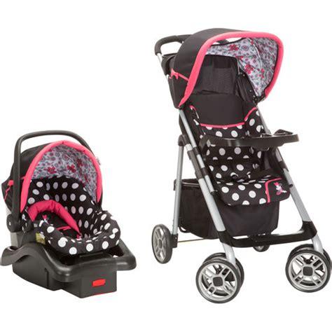 disney minnie mouse car seat and stroller kara s ideas disney baby at walmart wish list