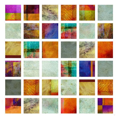 color block painting color block collage abstract painting by powell