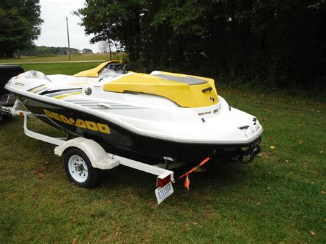 seadoo boat gas seadoo speedster 150 2005 for sale for 9 900 boats from