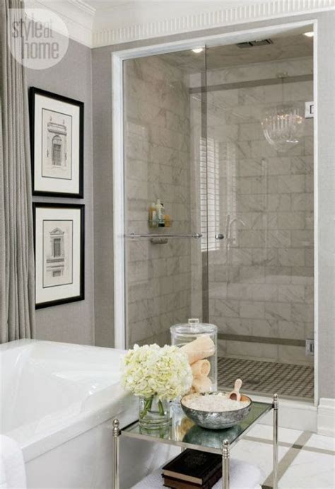classy bathrooms elegant marble tile shower and bathroom tile ideas