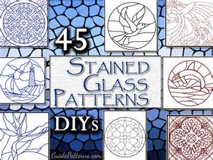 glass painting templates patterns 45 simple stained glass patterns guide patterns