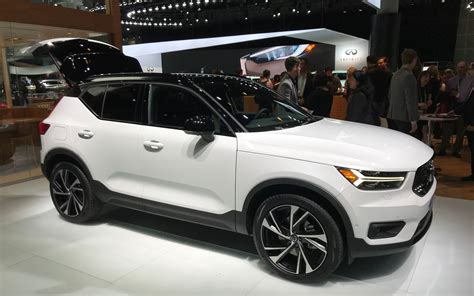 volvo dealers in los angeles the 2019 volvo xc40 on display in los angeles 4 39