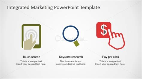ppc strategy template touch screen search and ppc clipart for powerpoint