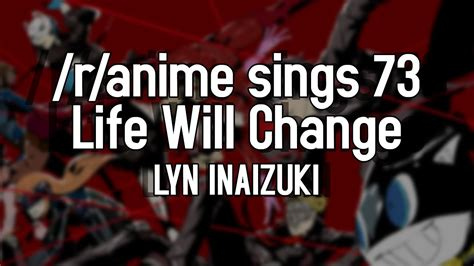 R Anime Sings by R Anime Sings Will Change Persona 5 Ost