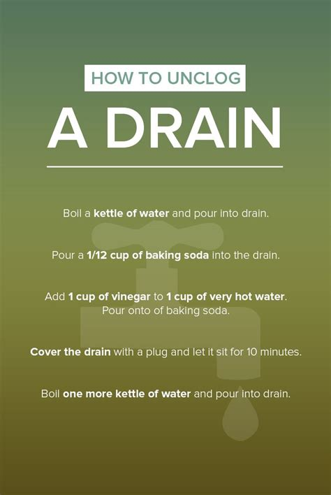 Best Way To Unclog A Kitchen Sink Drain Best 25 Unclog Sink Ideas On Unclog Sink Drain Unclogging Drains And Clean Clogged