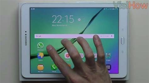 whatsapp on samsung tablet add a new contact to whatsapp on the samsung galaxy tab s2 visihow