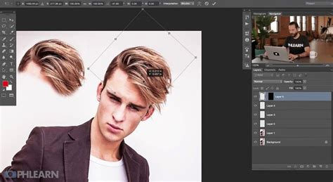 How To Change Hairstyle In Photoshop Cs5 by How To Style Hair In Photoshop