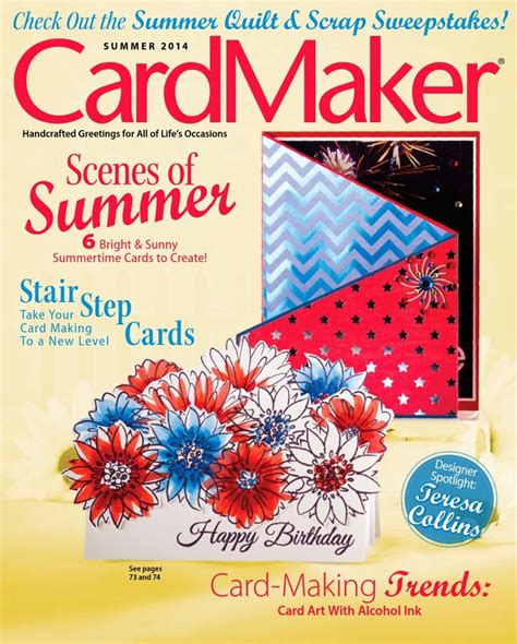 best card magazine 8 best free cardmaking and papercraft magazines to read