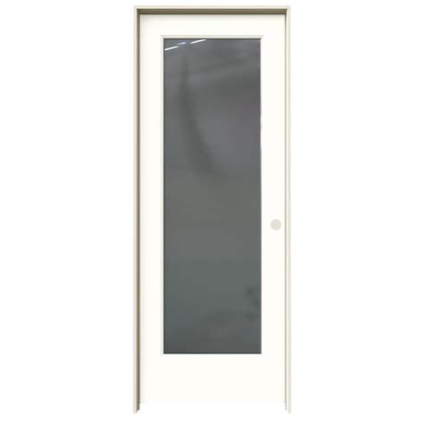 Shop Jeld Wen Madison Snow Storm Hollow Core Mirror Molded Interior Doors With Mirrors