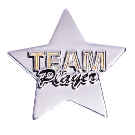 team player team award pin team player s