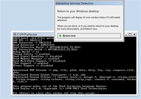 run any application as a windows service startboot your how to run any php script as a windows service 8 2012 7