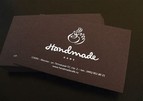 Handmade Paper Visiting Cards - handmade paper business cards with screen printing