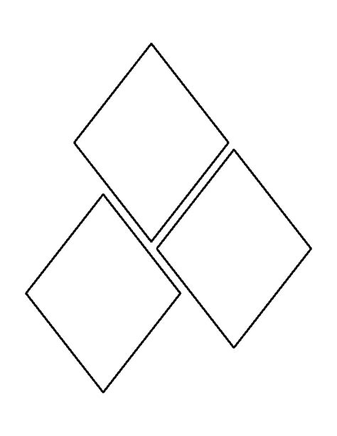 diamond pattern in turbo c 5 inch diamond pattern use the printable outline for