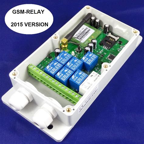 gsm remote 7 switch gsm remote relay band ebay