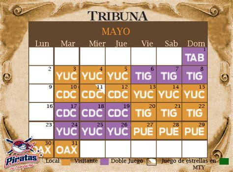 Calendario De Juegos Calendario De Juegos De Piratas De Ceche Tribuna Ceche