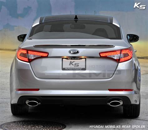 2011 Kia Optima Upgrades Oem Genuine Parts Rear Trunk Lip Spoiler For Kia 2011 2012