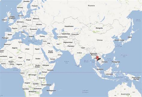 bangkok map  bangkok satellite image