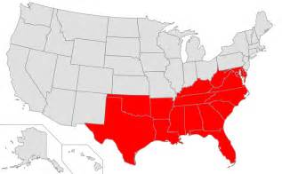 Map Of The South Of Usa by Wikipedia Talk Wikiproject United States Regions Official