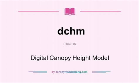 what does the word awning mean dchm digital canopy height model in undefined by