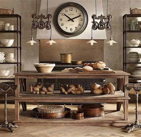 industrial style kitchen island 21 cool tips to steunk your home