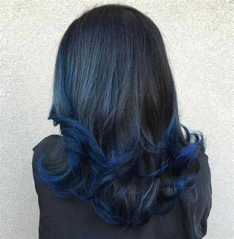 midnight blue hair color 17 best ideas about midnight blue hair on