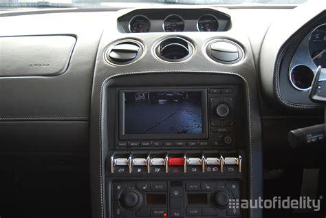 Integrated Rear View Camera System for Lamborghini
