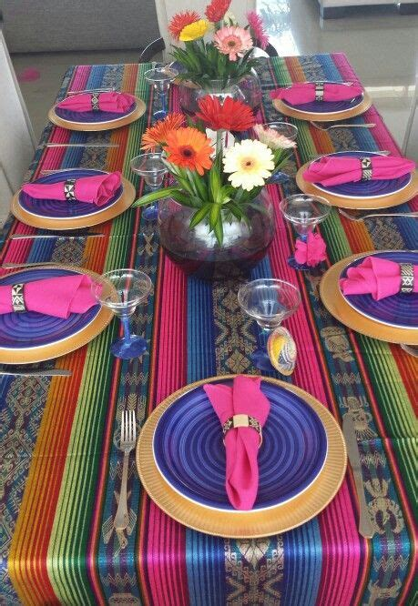 mesa mexicana ideas de decoracion pinterest