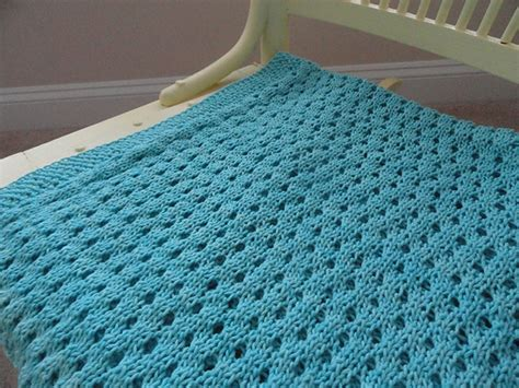 Knitting Patterns For Baby Blankets For How To