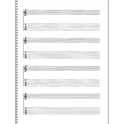 the asylum manuscript notebook blank sheet staff paper for musicians and composers books sales passantino guitar manuscript paper spiral pad