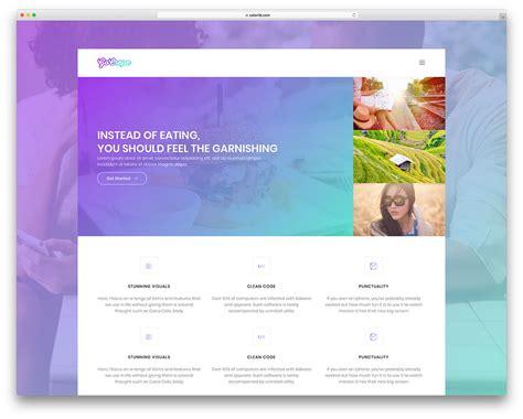 30 Top Free Bootstrap 4 Website Templates 2018 Colorlib Web Page Menu Templates
