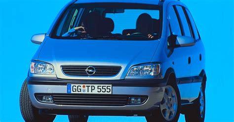 opel zafira fuel consumption opel zafira minivan mpv 1999 2003 reviews technical