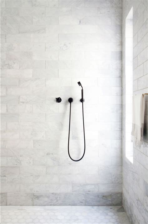 marble tile shower a centuries home gets some serious lark linen