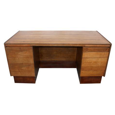 mid century modern walnut desk 1950s mid century modern solid walnut dunbar desk ebay