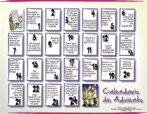 Calendario De Adviento Burgosclasesreli Calendario De Adviento