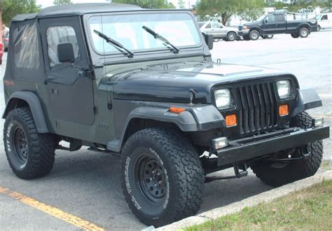 Jeep Parts Jeep Wrangler Yj Technical Details History Photos On