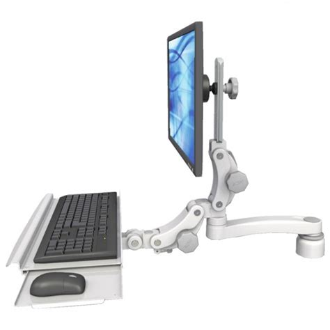 monitor and keyboard arm desk mount ultra 550 desk mount monitor keyboard arm ergomounts