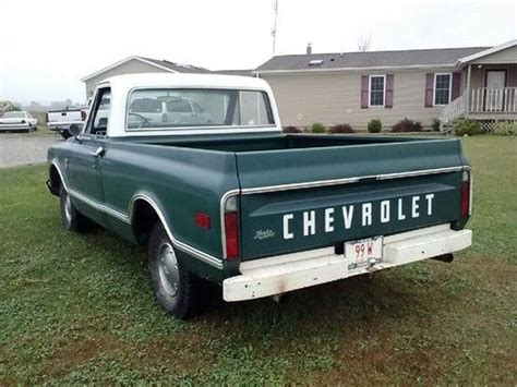 rust free pickup beds sell used 1968 chevrolet c 10 survivor 98 rust free short