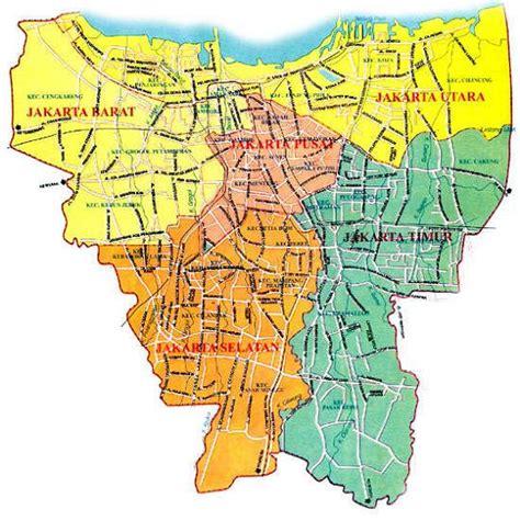 jakarta pusat map peta jakarta selatan peta jakarta timur map peta