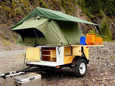 how to build a tent diy tent cer building the small trailer enthusiast
